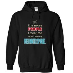 IRISH WATER SPANIEL T Shirts, Hoodies. Get it now ==► https://www.sunfrog.com/Pets/IRISH-WATER-SPANIEL-9456-Black-15034309-Hoodie.html?41382