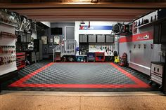 Sweet Audi garage