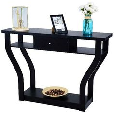 Shop a great selection of Modern Console Table,Entryway Table Sofa Table,Living Room Table Drawer Shelf. Find new offer and Similar products for Modern Console Table,Entryway Table Sofa Table,Living Room Table Drawer Shelf. Hallway Console, Narrow Console Table, Modern Console Tables, Entryway Tables, Modern Table, Hall Furniture, Living Room Furniture, Hardwood Furniture, Black Furniture