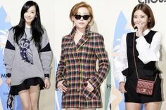 f(x)'s Victoria, Gain & Son Dam Bi Attend 'LUCKY CHOUETTE' 2014 S/S Collection - Oct 22, 2013 [PHOTOS] More: http://www.kpopstarz.com/articles/46590/20131023/fx-victoria-gain-son-dam-bi-photoslide.htm