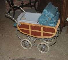 Vintage 1950s Coronet Thayer Convertible Stroller Baby Doll Buggy Carriage Pram