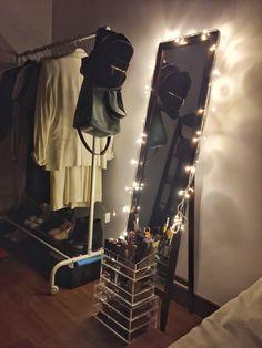 Fairy light gives a nice ambience before sleep..