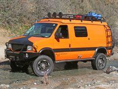 Aluminess - Ford Van Off Road Front Winch Bumper Chevrolet Astro, Winch Bumpers, Van Dwelling, 4x4 Van, Van Design, Sprinter Van, Rv Life, Motorhome, Jeep