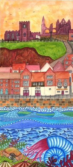 Ah, two loves together - my favourite artist and a favourite place - A Taste of Whitby Bridget Wilkinson