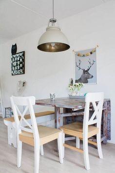 Estilo Nórdico + Vintage En Una Casa Holandesa