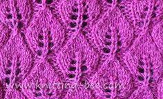 Bildergebnis für knit lace scarf pattern free