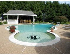 Boston Bruins Pool?!  I would so have that if I won the lottery !