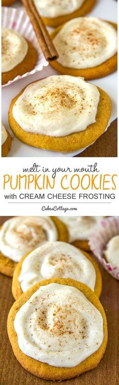 if you're looking for pumpkin recipes, these melt-in-your-mouth pumpkin cookies…