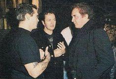 Henry Rollins, Joe Strummer and Johnny Cash