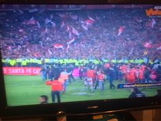 Santa Fe!!!! Campeon!!!! #santafexwin http://evpo.st/1GEq2vh @Danielygia #DiaDeOficinaBogota #paezagabriel