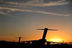 C-17 in the sunset