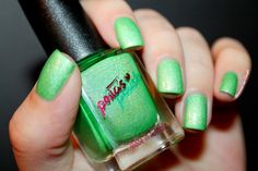 ☣ Ghost Gutz by Peita's Polish // What's In-die Box by diamant sur l'ongle