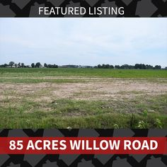 Featured Listing: 85 Acres Willow Road Contact us today about this great commercial opportunity! 870.847.7653  *This property is listed with a licensed Burch & Co. Real Estate agent. #burchandco #realestate  #realty  #realtor #arkansas  #jonesboro #jonesbororealestate #arkansasrealestate  #commercial #acreage #85acres