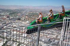Stratosphere roller coaster, Las Vegas, NV.