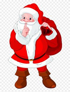 Buy Santa Claus gesturing shush by Dazdraperma on GraphicRiver. Illustration of Santa Claus gesturing shush Merry Christmas Santa, Father Christmas, Christmas Art, Christmas And New Year, Vintage Christmas, Christmas Cartoons, Christmas Clipart, Christmas Printables, Christmas Pictures
