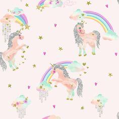 Arthouse Imagine Fun 2 Rainbow Unicorn behang 696108