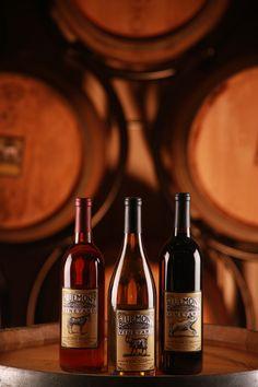 Product Photography Bluemont Vineyard Wine Bottles