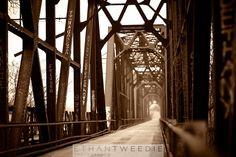 Gorgeous bridge in Denison, Texas Carpenters Bluff Bridge.