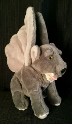 Gargoyle-Stuffed-Plush-Toy-With-Wings-Design-Toscano-Gothic-Cathedral-Rare-16-5-034