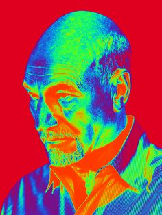 Patrick Stewart Psychedelic gif image