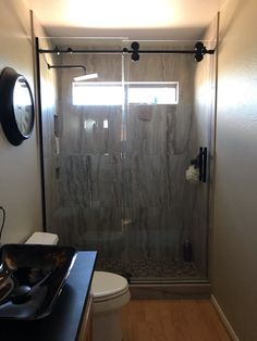 At TWD our experienced team of designers can tailor your specific needs and stay within your budget. Shower Floor Tile, Tub Shower Combo, Shower Tub, Glass Barn Doors, Shower Remodel, Shower Enclosure, Dream Bathrooms, Wall Tile, Guest Bath