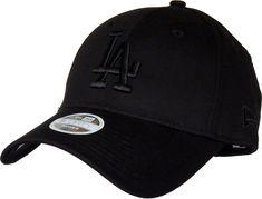 d579f43df71 LA Dodgers Womens New Era 940 League Essential All Black Baseball Cap