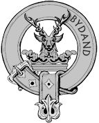 The Gordon crest. Bydand.  Abiding. Steadfast. Bide and Fecht. (Stand and Fight).