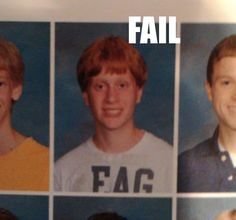 hahaha...not really appropiate but i died laughing. Ha ha ha! That is why you never wear an American Eagle shirt on picture day!