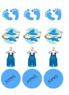 Cupcakes Baby Shower Edible Icing Image Decoration Sugar Cake Topper Paper | eBay