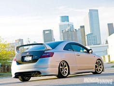 2007 Honda Civic Si Mugen Style Rear Lip