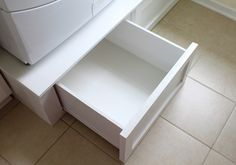 washer dryer pedestal drawer