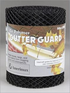 Amerimax Gutter Guard 6 ' X 20 ' Plastic Blk *** For more information, visit image link.