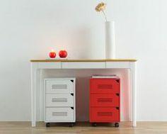 Gaveteiro Molin Branco - 3 Gavetas - escritorio