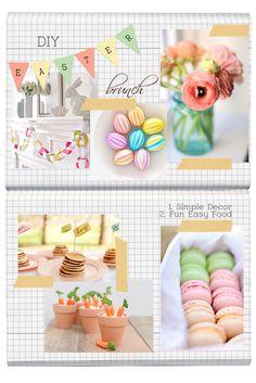 Easy DIY Easter Brunch Ideas