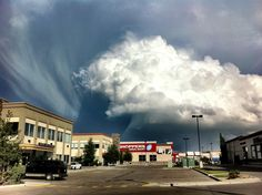 """AP: """"Storm cloud over the town of okotoks Alberta Canada shot with my iPhone"""" Amazing Photos, Cool Photos, Life Choices, Tornados, Storm Clouds, The Province, Alberta Canada, Storms, Amazing Nature"""