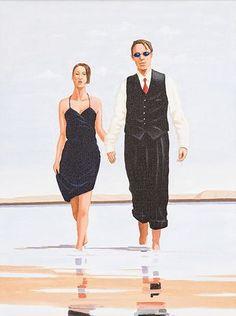 Jack Vettriano - Tender...réepinglé par Maurie Daboux¸¸.•*¨*⋱‿✿╮