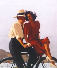 Lazy Hazy Day by Jack Vettriano
