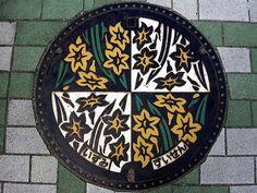 Japanese manhole covers マンホール
