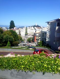 The gently rolling hills of San Francisco