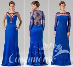 Madrinhas de casamento: Vestido para madrinha azul