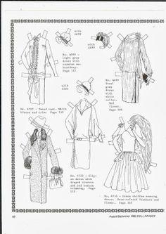 720 Best Arielle Gabriel: Paper Dolls Black And White