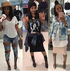 Rasheeda frost style clothes fashion, fashion outfits и rash Tomboy Fashion, Estilo Fashion, Fashion Killa, Cute Fashion, Look Fashion, Girl Fashion, Autumn Fashion, Womens Fashion, Feminine Fashion