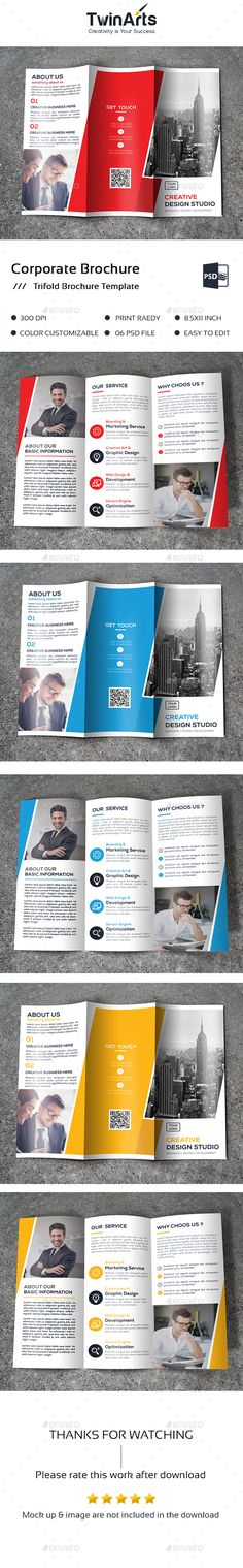 Trifold Brochure Template PSD. Download here: http://graphicriver.net/item/-trifold-brochure/16639586?ref=ksioks