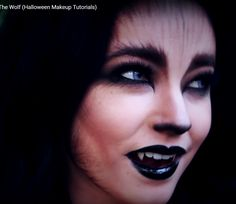 Werewolf Makeup | 21 Easy Hair And Makeup Ideas For Halloween ...