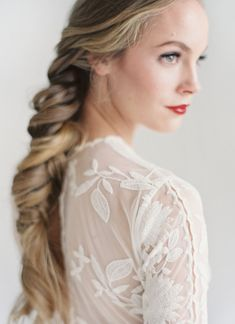 Wedding Hair Inspiration: Fishtail Braid | Bridal Musings Wedding Blog