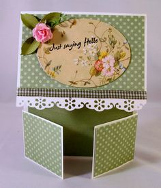 Dar's Crafty Creations: Fancy Fold Cards  Double Dutch Fold
