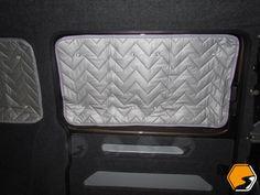 Camper van thermal window blinds pinterest thermal windows diy sliding door solutioingenieria Images