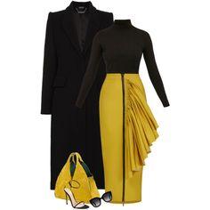A fashion look from February 2018 by detroitfashionista featuring Diane Von Furstenberg, Alexander McQueen, Maticevski, Gianvito Rossi, Onesixone, Gucci, blackh...