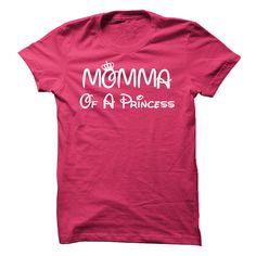 (New Tshirt Coupons) Momma Of A Princess Custom T [TShirt 2016] Hoodies