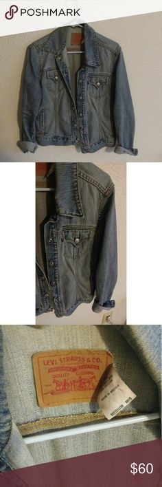 Levi's Vintage Denim Jacket- Light Wash A solid investment jean jacket, still in excellent condition. Smaller people wear oversized, larger people wear cropped. The denim is soft with character. Levi's Jackets & Coats Jean Jackets